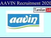 AAVIN Recruitment 2020