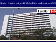 Bombay Hospital Institute Of Medical Sciences Recruitment 2020