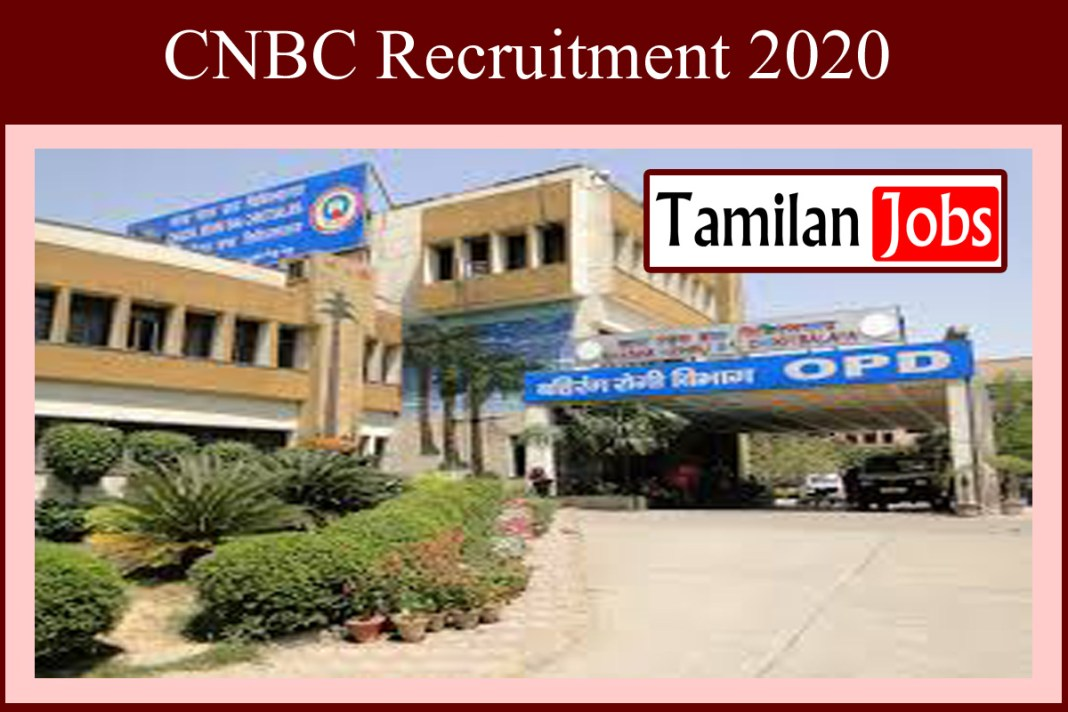 CNBC Recruitment 2020