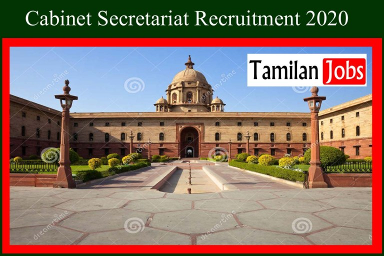 Cabinet Secretariat Recruitment 2020 Out – Apply 12 Field Assistant Jobs
