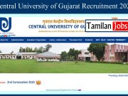 Central University of Gujarat Recruitment 2020