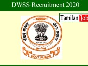 DWSS Recruitment 2020