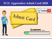 ECIL Apprentice Admit Card 2020