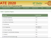 GATE Question Paper 2020