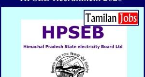 HPSEB Recruitment 2020