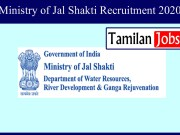 Ministry of Jal Shakti Recruitment 2020