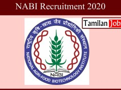 NABI Recruitment 2020