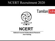 NCERT Recruitment 2020