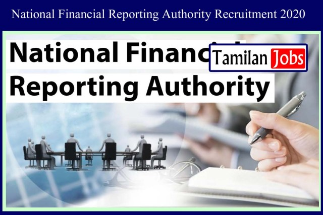 National Financial Reporting Authority Recruitment 2020