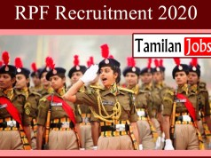 RPF Recruitment 2020