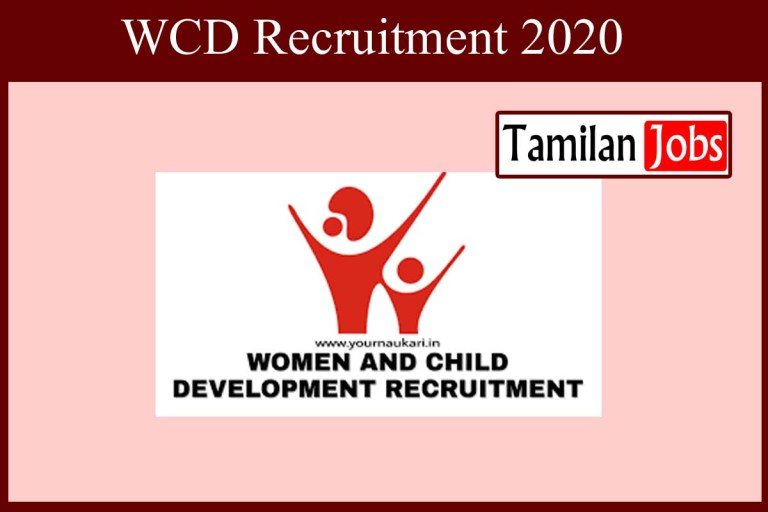 WCD Puducherry Recruitment 2020 Out – 25 Consultant Jobs
