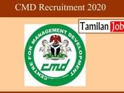 CMD Recruitment 2020