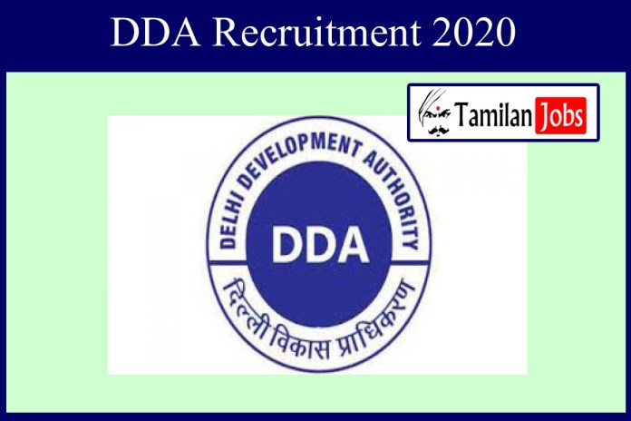 DDA Recruitment 2020 Out – Diploma, Degree Candidates Apply For 629 Director Jobs