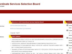 DSSSB PGT Admit Card 2020