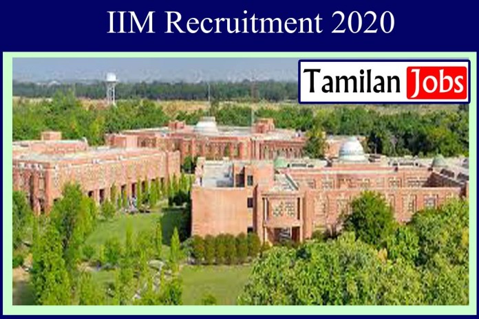 IIM Lucknow Recruitment 2020 Out – Degree Candidates Apply For Academic Assistant Jobs