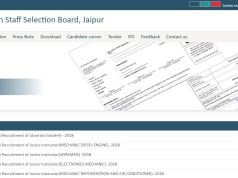 RSMSSB Pharmacist Admit Card 2020