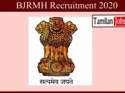 BJRMH Recruitment 2020