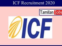 ICF Recruitment 2020