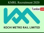 KMRL Recruitment 2020