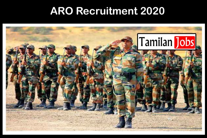 ARO Recruitment 2020 Out – 10th, 12th Candidates Can Apply For Various Soldier Jobs