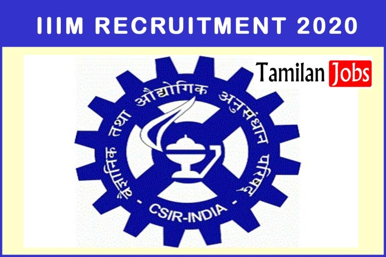 IIIM Recruitment 2020 Out – Degree,Diploma Candidates Can Apply For Project Assistant-I Jobs