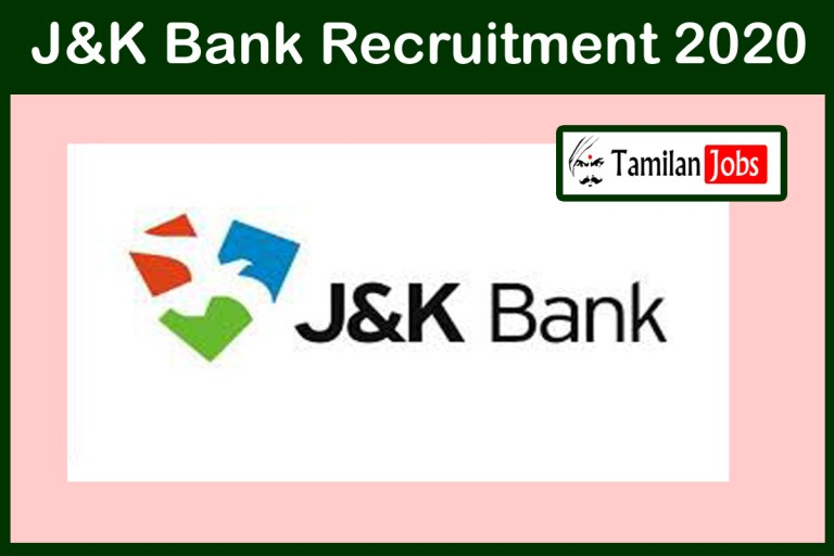 J&K Bank Recruitment 2020 Out – Degree Candidates Can Apply For 1850 PO Jobs
