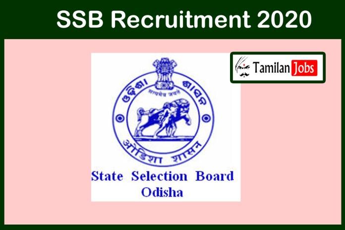 SSB Recruitment 2020