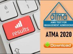 ATMA Result 2020