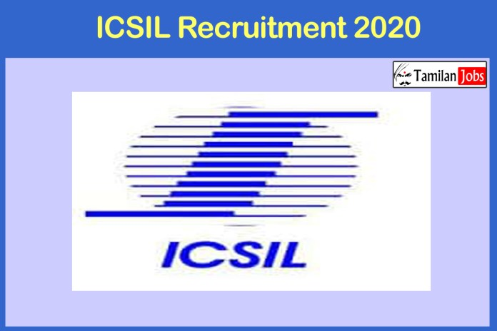 ICSIL Recruitment 2020 Out – Apply Blood Bank Technologist Jobs