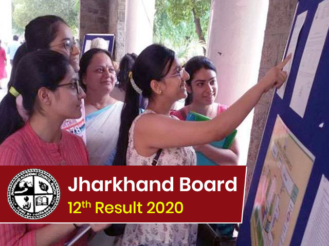 JAC 12h Result 2020 Declared | Jharkhand Board Class 12th Results @ jac.jharkhand.gov.in