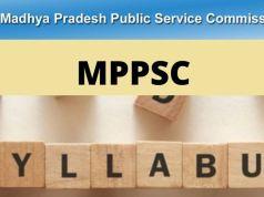 MPPSC Veterinary Assistant Surgeon Syllabus 2020