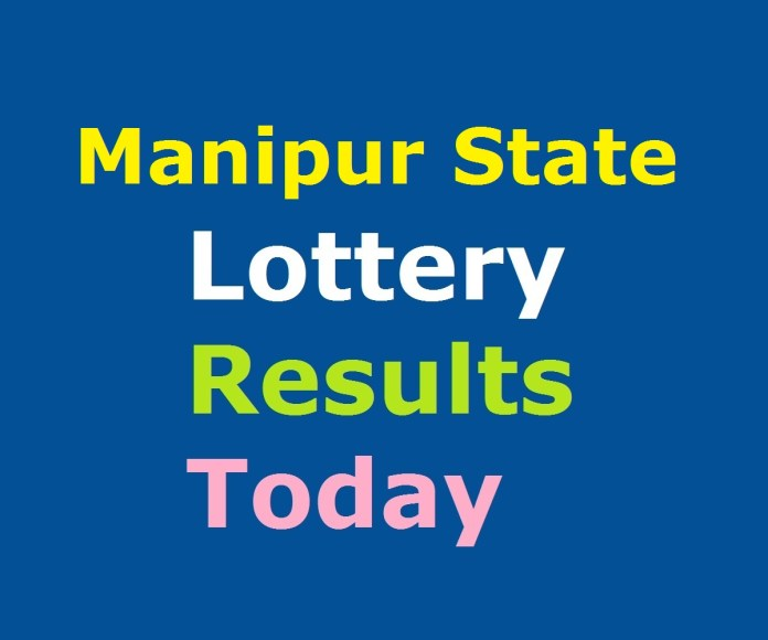 Manipur State Lottery Result Today