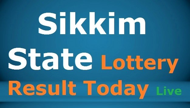 Sikkim State Lottery Result Today Live