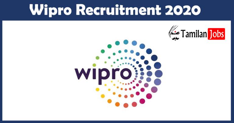 Wipro Recruitment 2020: 1000 + Job Openings