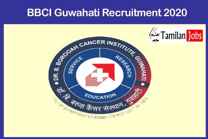 BBCI Guwahati Recruitment 2020 Out – Apply Online 10 Staff Nurse Jobs