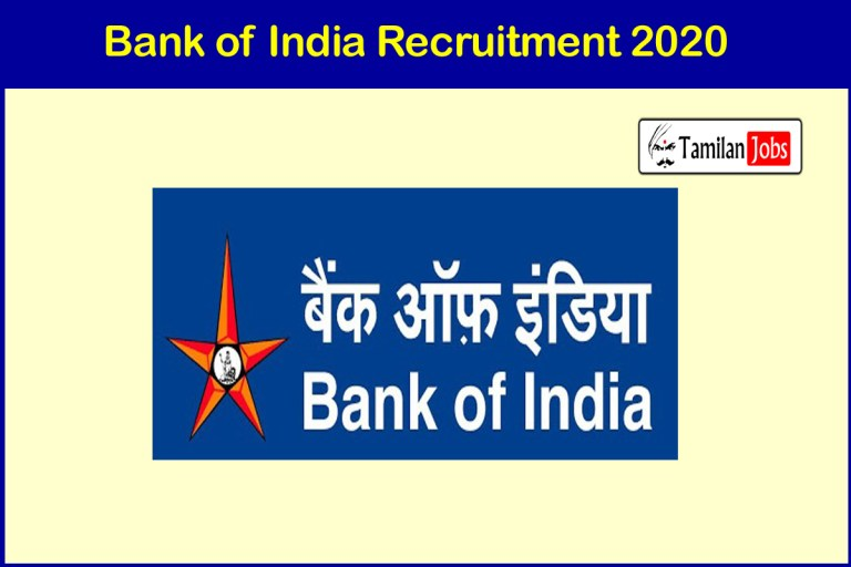Bank of India Recruitment 2020 Out – Apply Online 214 Officer Jobs