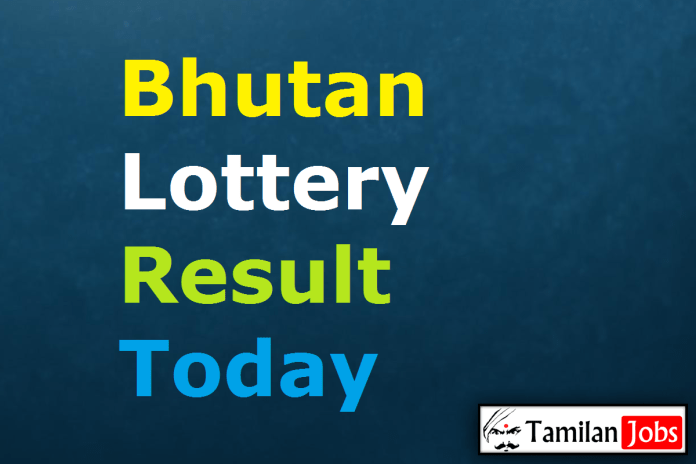 Bhutan Lottery Result Today