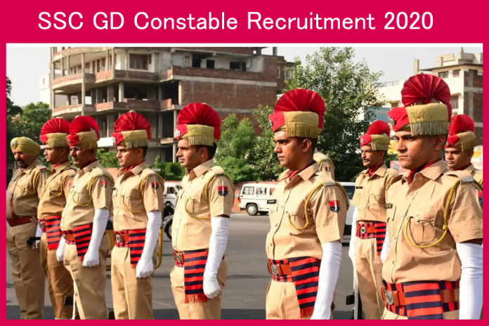 SSC GD Contable Recruitment 2020