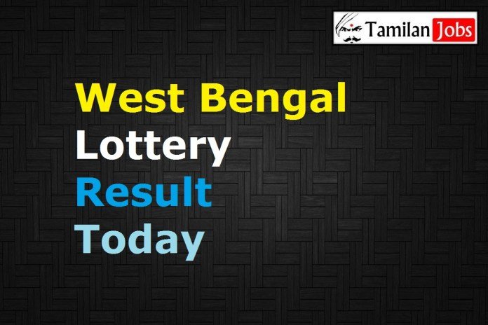 West Bengal State Lottery Result Today