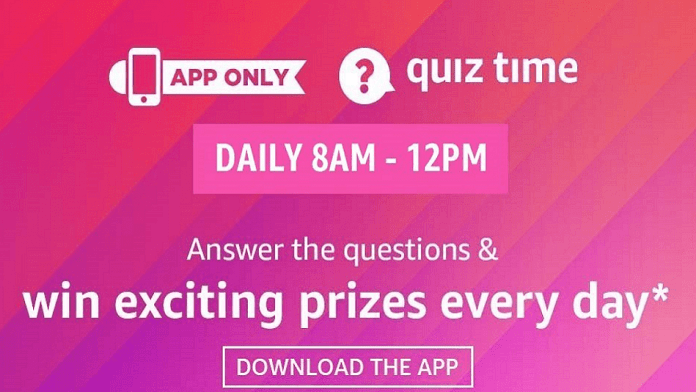 Amazon Quiz 11 September 2020 Answers: Win Samsung Galaxy Buds Plus