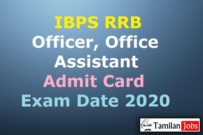 IBPS RRB Officer Admit Card 2020