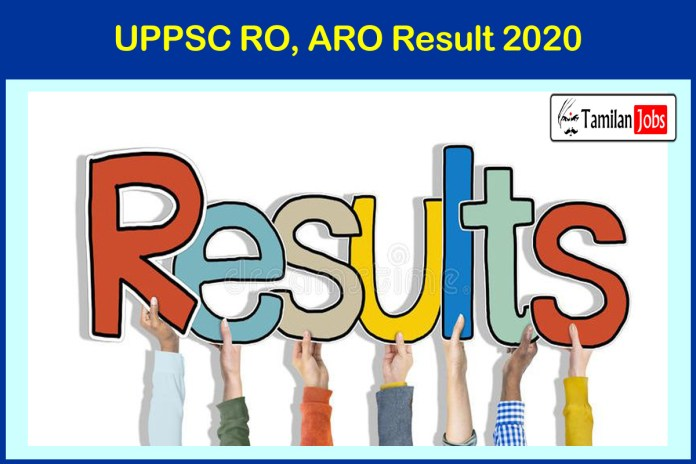 UPPSC RO, ARO Result 2020 | Review Officer, Assistant Review Officer Selection List