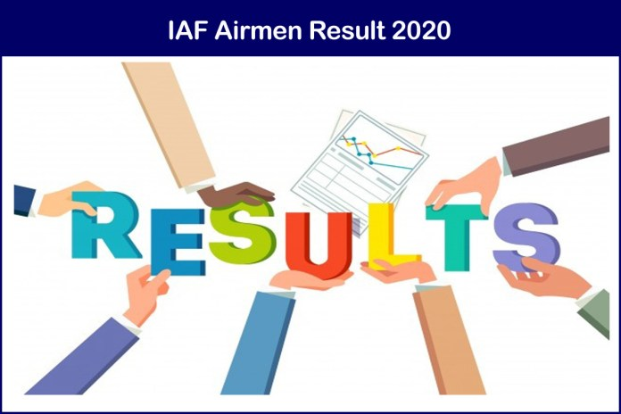 IAF Airmen Result 2020 Declared | Download @ airmenselection.cdac.in