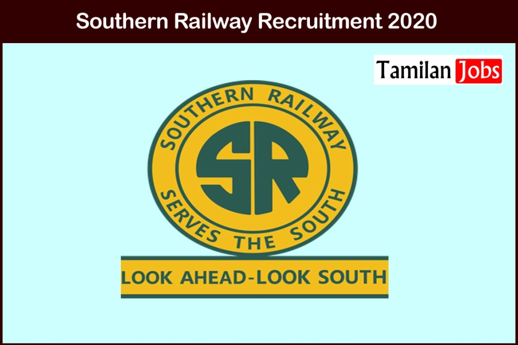 Southern Railway Recruitment 2020