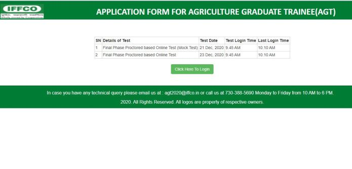 IFFCO Result 2020 (Released) | Download AGT, GEA Selection List @ iffco.in