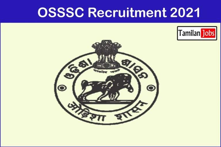 OSSSC Recruitment 2021 Out – Apply 200 Radiographer Jobs