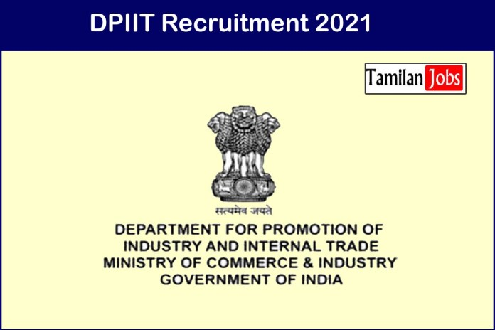 DPIIT Recruitment 2021 Out – Apply 11 Manager, Assistant Manager Jobs