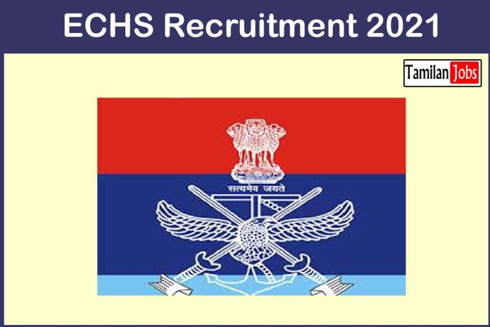 ECHS Recruitment 2021 Out – Apply Online 160 DEO, Clerk, Lab Assistant Jobs