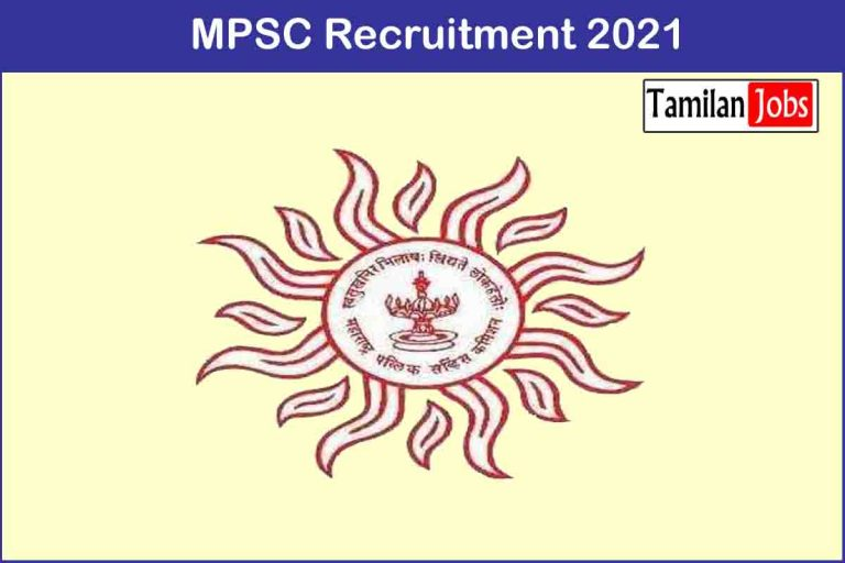 MPSC Recruitment 2021 Out – Apply 346 State Service Jobs