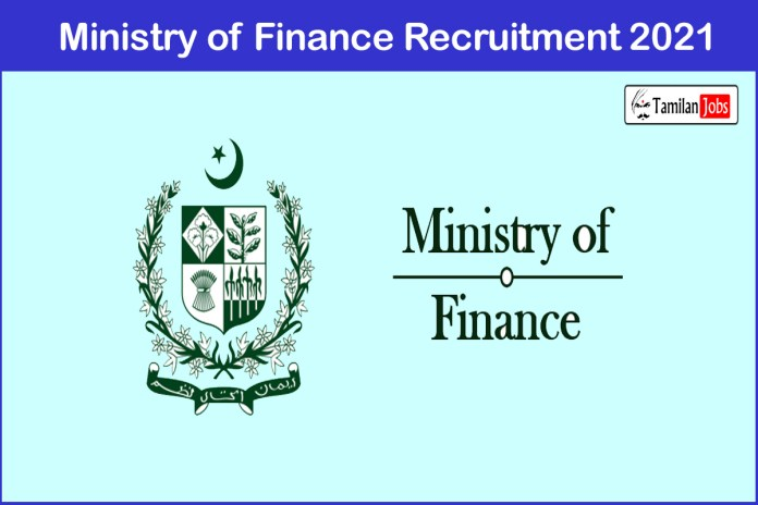 Ministry of Finance Recruitment 2021 Out – Apply Tax Assistant Jobs